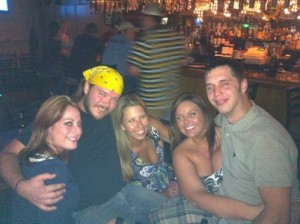 Pic w old friends at ramada aug 2011